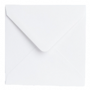 White Matte Envelopes